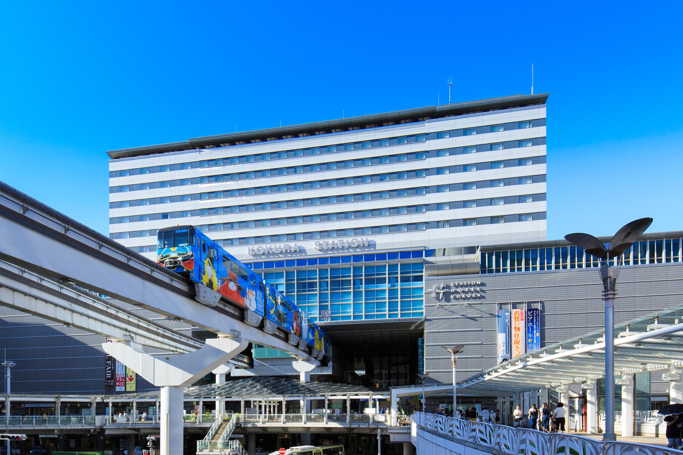 小倉駅直結「JR九州ステーションホテル小倉」に荷物預かりサービスecbo cloak導入!