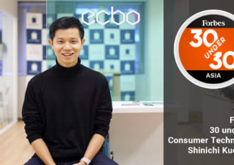 「Forbes 30 Under 30 Asia 2019」Consumer Technology部門に選出!|CEO 工藤慎一 #ecboの裏側