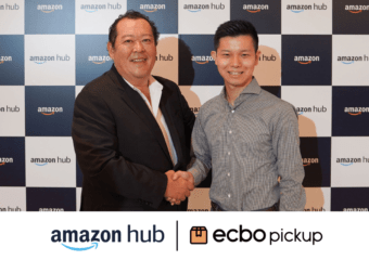 ecbo、Amazonと業務提携!Amazon購入商品を、宅配物受け取りサービス「ecbo pickup」対応店舗でかんたん受け取り
