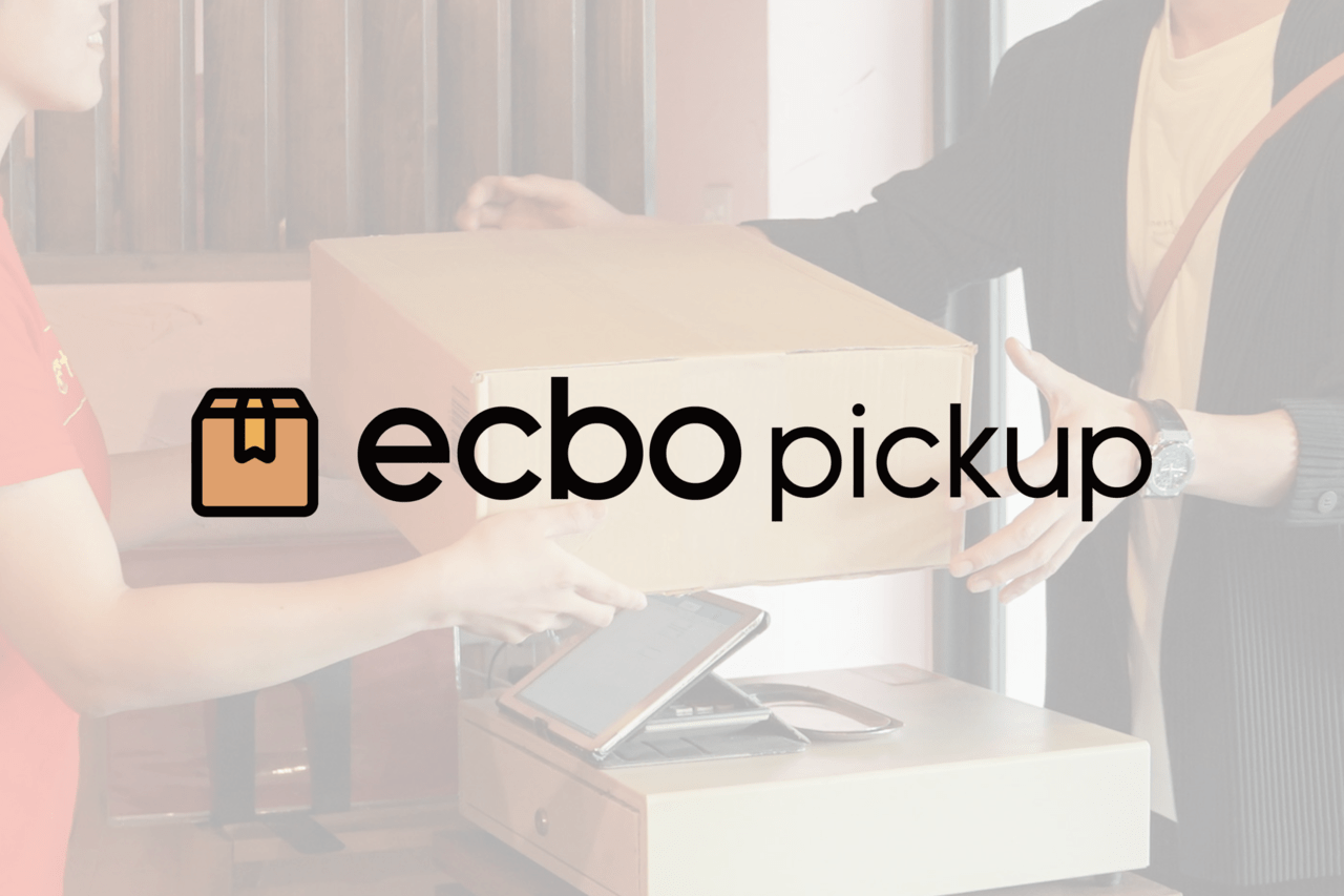 ecbo、宅配物受け取りサービス「ecbo pickup」の構想を発表!カフェや美容室など50業種以上のお店でかんたん受け取り