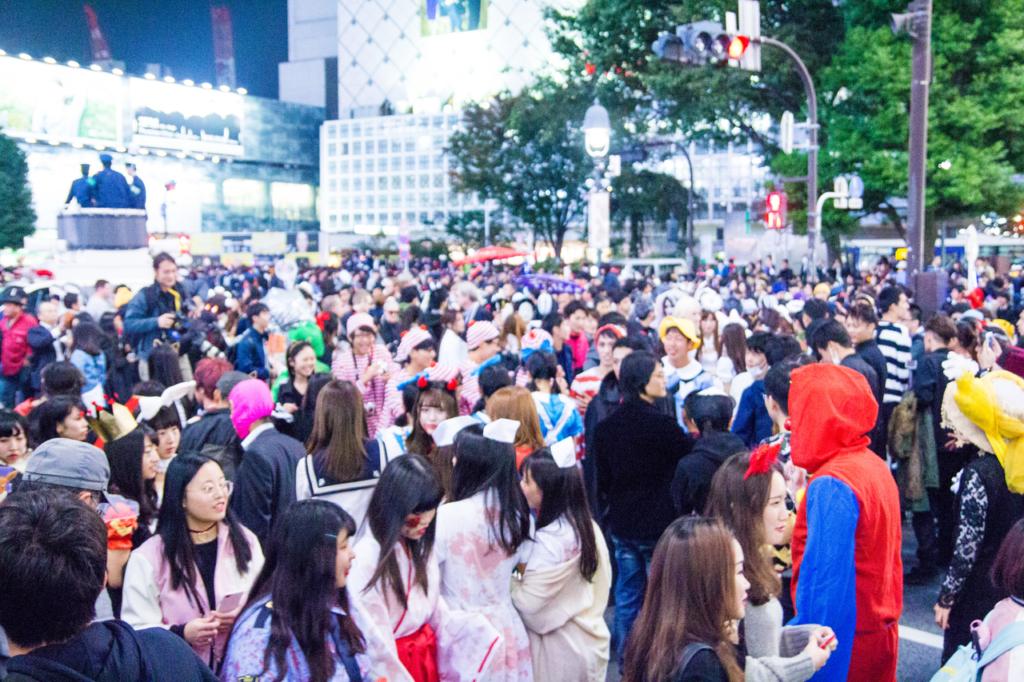 渋谷桜ハロウィン2019 (渋谷)