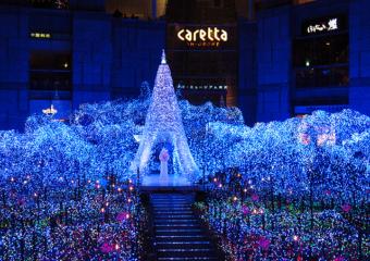 【東京】今年は「手ぶら」イルミがおすすめ。都内の人気イルミネーションスポット付近のecbo cloak特集!